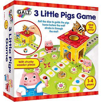 3 små grisar spela & lära spel