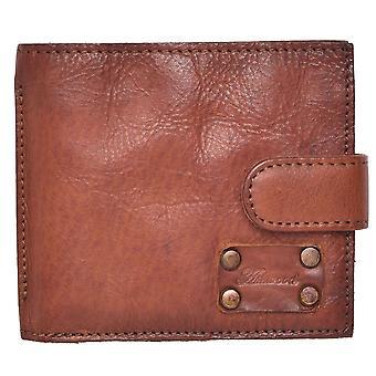 Men's Vintage Style Leather Bifold Wallet
