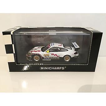 Minichamps 400 036950 Porsche 911 GT3 RS Voittaja Ortelli Spa 2003