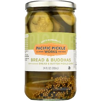 Pacific Pickle Works Pickle Chips Brd & Butter, Case of 6 X 24 Oz