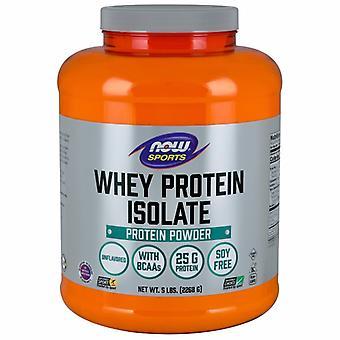 "Now Foods איזולט של חלבון מי גבינה, ללא תנופה, 15 ק""ג"