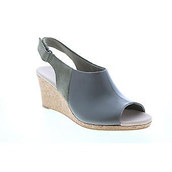 Clarks Adult Womens Lafley Jess Wedges Heels