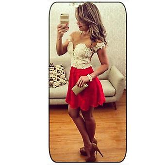 Women Lace Sleeveless Party Cocktail Evening Bodycon Summer Sexy Mini Dress
