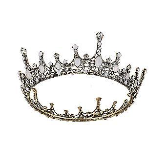 Coroa de Diamante Tiara Noiva Princesa Casamento Bandanas Cabeça de Casamento