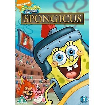 Spongebob Squarepants Spongicus DVD