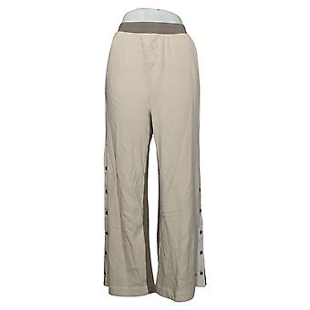 MIND BODY LOVE by Peace Love World Women's Pants Reg Ivory A392760