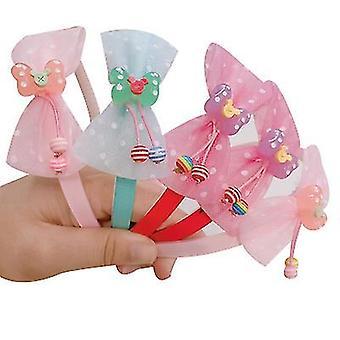 Kinderen schattige haar accessoires verscheidenheid van cartoon fruit kant pony haar band (STYLE3)