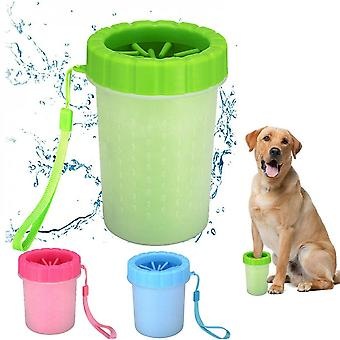 Hond Paw Cleaner Silicone Portable Pet Foot Cleaner Washer Cup