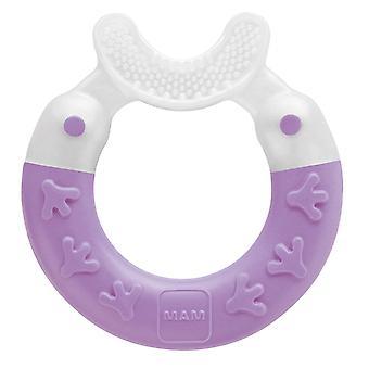Beißring Bite & Brush, Baby Zahnungshilfe beruhigt das Zahnfleisch, unterstützt die Zahnpflege