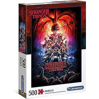 Clementoni Stranger Things 2 Puzzle (500 pièces)