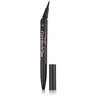 Maybelline New York Curvitude Liner, 410 Black, 0.027 Oz