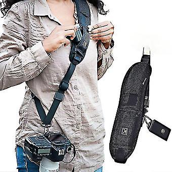 Cinturino per fotocamera digitale DSLR Canon Nikon Accessori per fotocamere rapide SonyCollo