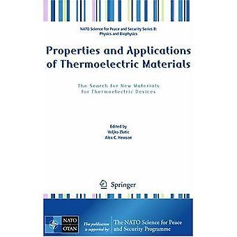 Egenskaper och tillämpningar av termoelektriska material - Sökningen f