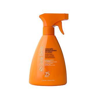 Body Sunscreen Spray Emulsión Bronceadora Gisèle Denis (300 ml)/Spf 15