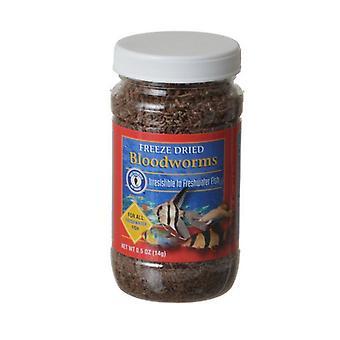 SF Bay Značky Freeze Dried Blood Worms - 0,5 oz