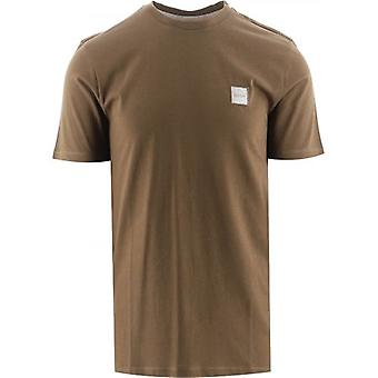 BOSS Dark Green Crew Neck Organic Cotton Tales 1 T-Shirt