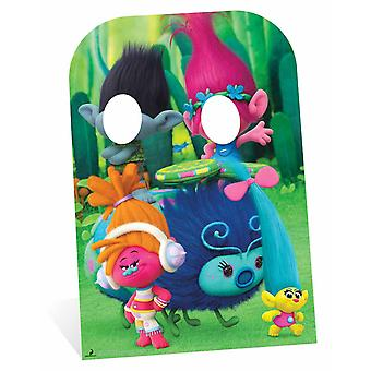 Trolls Poppy and Branch Child Size Cardboard Cutout / Standee Stand-In