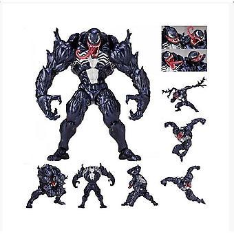 Marvel Spider-Man Venom Revoltech Serie PVC Action Figur Modell Spielzeug Kollektion