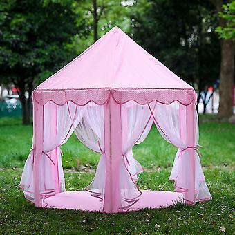 Lapset Lapset Sisäleikki Teltta Taittuva Lelu teltta Pop Up Tyttö Prinsessa Linna