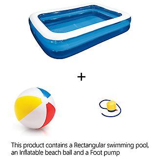 Svømmebasseng,rektangulært svømmebasseng