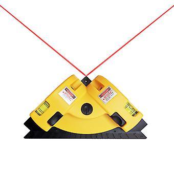 Kąt prosty 90 stopni Poziomy laserowe Cross Line Układanie płytek Laserowe Beam Measurement Tool