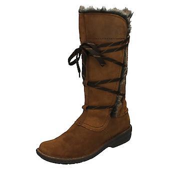 Ladies Clarks Casual Knee High Boots Avington Hayes