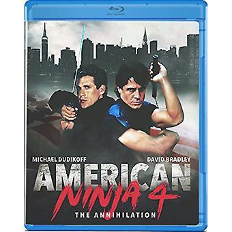 Guerriero americano 4: L'annientamento [Blu-ray] USA importazione