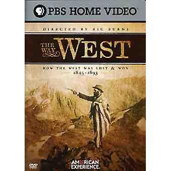 Importare modo USA West [DVD]