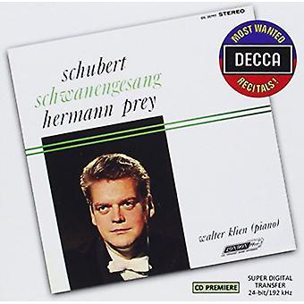 Presa/Klien - recitales quería más: Importación de Estados Unidos Schubert-Schwsnengesang [CD]