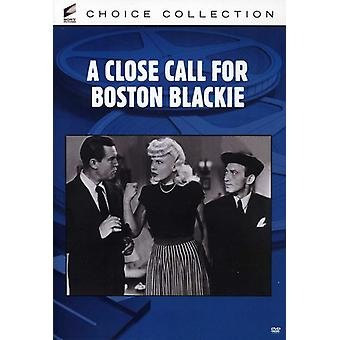 Close Call voor Boston Blackie [DVD] USA import