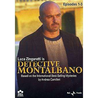Detective Montalbano, Episodes 1-3 [DVD] USA import