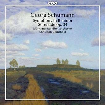 G. Schumann - Georg Schumann: Symphony in B Minor; Serenade, Op. 34 [CD] USA import