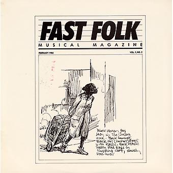 Fast Folk Musical Magazine - Vol. 1-Fast Folk Musical Magazine (2) [CD] USA import