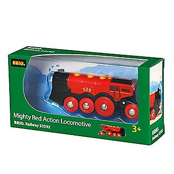 BRIO 33592 Mighty Red Action Locomotive (2013 model)