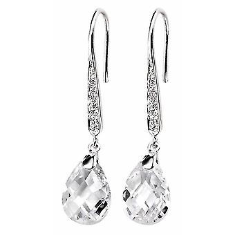 925 Silver zirconia Earring Drop