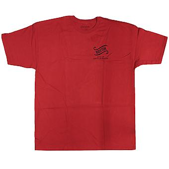 Brixton Culver T-Shirt Red