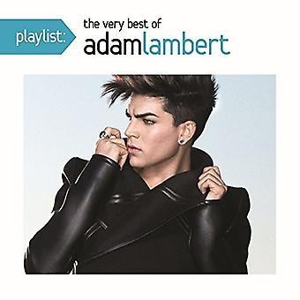 アダム ・ ランバート - プレイリスト:、非常に最高のアダム ・ ランバート [CD] USA 輸入