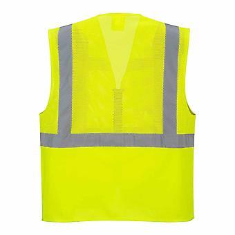 بورتويست مينز مرحبا فيس سلامة ملابس العمل مدريد التنفيذي شبكة سترة
