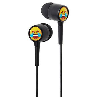 Groov-e EarMOJI Kids Earphones Laughing Face (Model No. GVEMJ22)