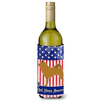 Finnischer Spitz amerikanischen Weinflasche Beverge Isolator Hugger