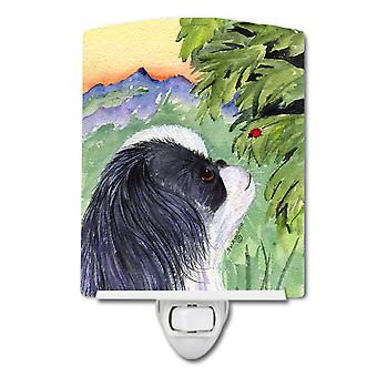 Carolines Treasures  SS8259CNL Japanese Chin Ceramic Night Light