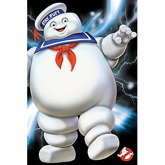 Ghostbusters-البقاء Puft ملصق طباعة ملصق