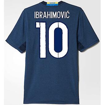 2016-2017 Suède maillot (Ibrahimovic 10)