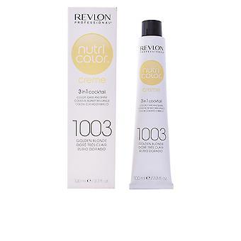 Revlon Nutri Color Creme #1003-golden Blonde 100 Ml Unisex