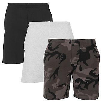 Urban classics - basic Terry fleece summer shorts