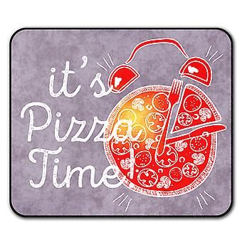 Pizza Time Junk Joke  Non-Slip Mouse Mat Pad 24cm x 20cm | Wellcoda