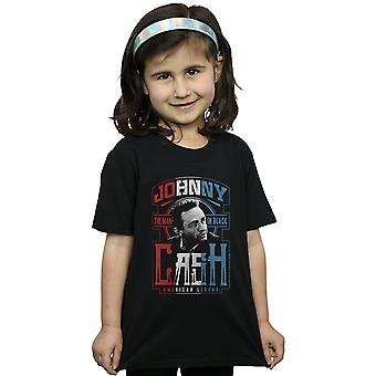 Johnny Cash Girls Red, White And Cash T-Shirt