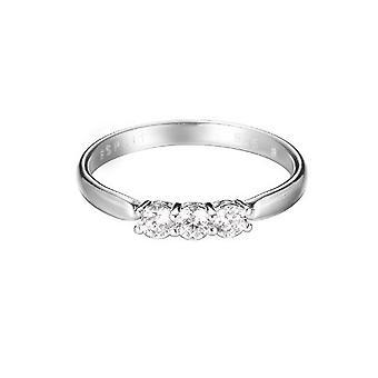 Trio di zirconi Anello argento donna ESPRIT Glam ESRG92364A1