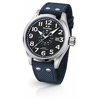 TW Steel Mens Volante Blue 48mm VS32 Watch