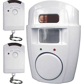 Smartwares Mini allarme sistema incl. 2x telecomando 105 dB SC09 SW